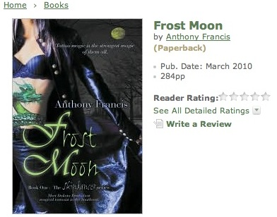 frost moon on barnes and noble